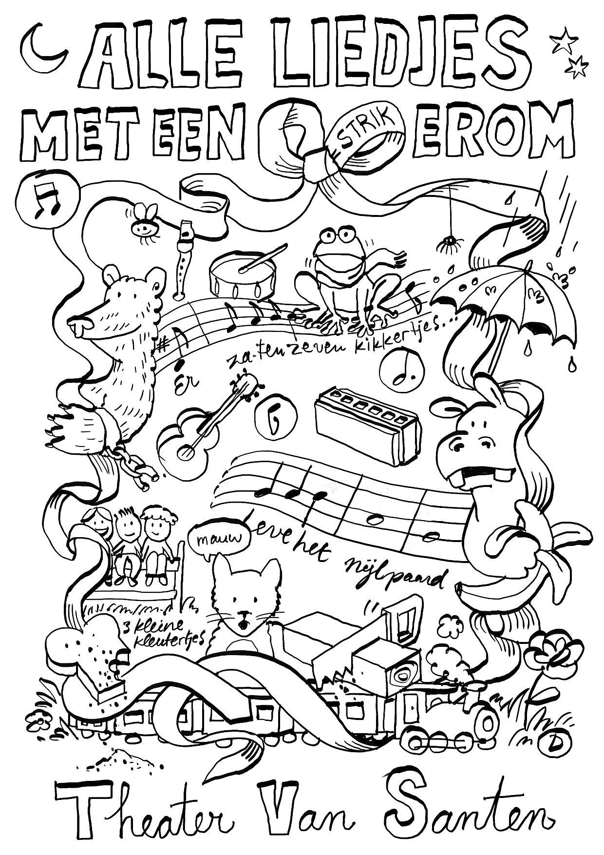 Theater Van Santen Alle Liedjes Met Een Strik Erom